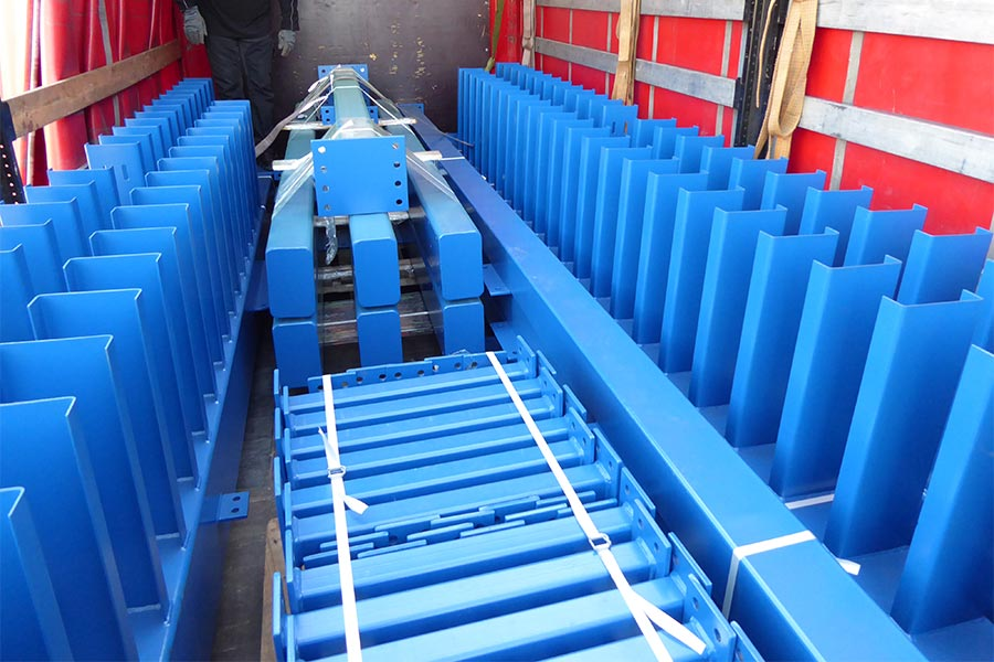 Automated Warehouse Steel Construction