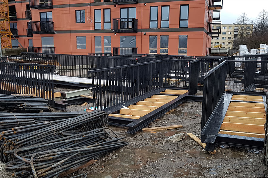 Steel Structures for Apartment Buildings 0