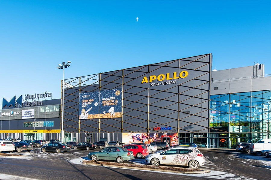 Steel Structures for Mustamäe Shopping Centre_1_en