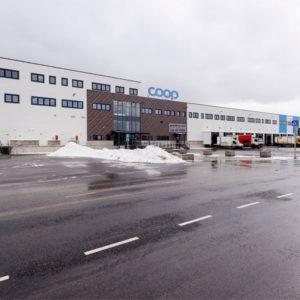 Coopi logistikakeskuse teraskonstruktsioonid