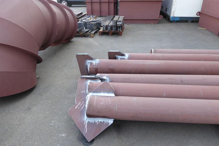 Vessel for Wind Turbine