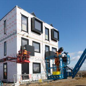Modular apartment building