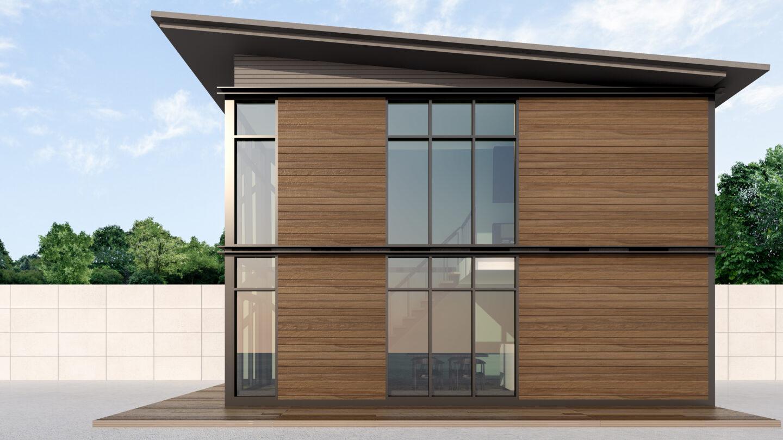 Modern modular housing